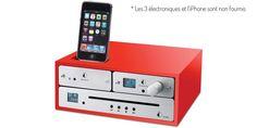 Pro-ject Design Box 4iP Rouge 69 €