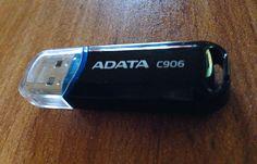 Memoria Flash USB Adata C906 16 GB Negra