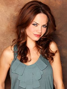 Rebecca Herbst ...so gorgeous! General Hospital 2013 So sad to hear she is leaving GH!