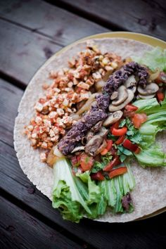 Tofu Chipotle Wraps Recipe