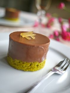 Victoria's Cake Boutique: Chocolate, ginger and green tea mousse cakes
