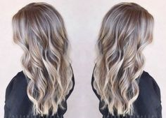 winter blonde balayage hair color ash blonde golden blonde icy highlights beach curls blunt haircut