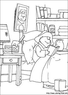 33 fab Paddington Bear colouring pages for kids. Rainy day fun for kids with these Paddington Bear colouring images online Coloring Pages For Girls, Coloring Pages To Print, Free Coloring Pages, Coloring For Kids, Printable Coloring Pages, Adult Coloring, Coloring Books, Oso Paddington, Rainy Day Fun