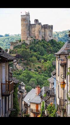 Castle in Najac, France!