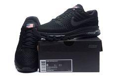 Nike Air Max 2017 Men Mesh All Black