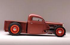 Rat Rod Cars, Hot Rod Trucks, Cool Trucks, Pickup Trucks, Cool Cars, Ford Commercial Trucks, Custom Rat Rods, Custom Trucks, Desoto Firedome