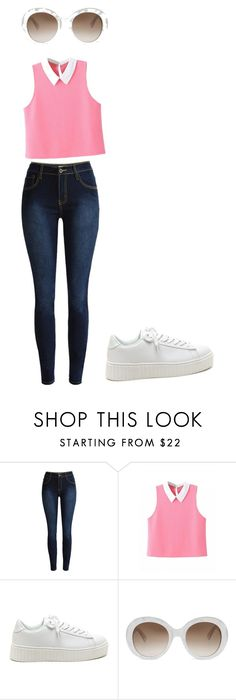 """""""Casual"""" by alba-cordon ❤ liked on Polyvore featuring Gucci"""