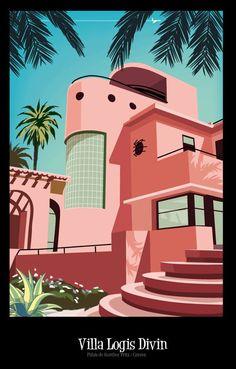 Villa Logis Divin, Palais de Gunther Fritz, Cannes /Monsieur.Z