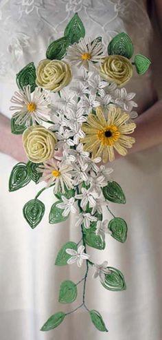 Anchik.Net   Букет Невесты из бисера