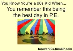 This isn't just being a 90s kid. We did this in the 80s too!
