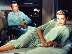 Grace and Jimmy in Rear Window