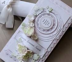 First Communion, Cardmaking, Confirmation, Cards, Scrapbooking, Venice, First Holy Communion, Maps, Scrapbooks