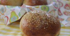 Tapitas y Postres: Panecillos de hamburguesa con sésamo y semillas de lino