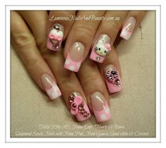 ••●pink, hello kitty, bling& 3D••○