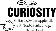 Curiosity Millions Saw The Apple Fall But Newton...