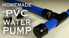 How To Make A PVC Pump!  In this project you'll learn how to make a customizable PVC hand pump that will create vacuum suction, pump water, or compress air.    http://www.thekingofrandom.com