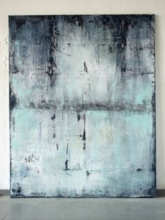 Buy blue with past, a Acrylic on Canvas by Christian Hetzel from Germany. It portrays: Abstract, relevant to: blue, art, modern, painting, contemporary, canvas, hetzel canvas work with different blue colorscales with marks and textures