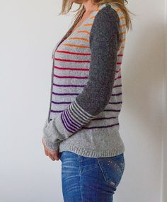 One of my customers knits! Lovely :) Used Holst Garn Supersoft and Zauberball Ravelry: WipsKnits' Funky Grandpa