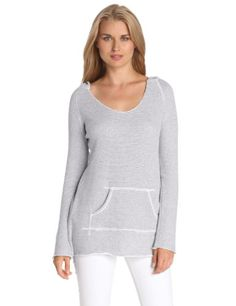 Calvin Klein Performance Women%27s Stripe Hooded Top