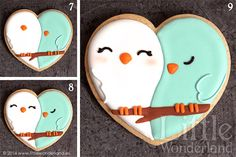 GALLETAS DECORADAS 8: Decoración de una galleta paso a paso | COOKIE DECORATING 8: Decorating a cookie