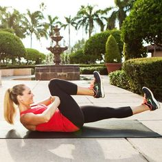 lower abs resisted leg stretch - push knee towards face while using hands to push it away. 3 sets of 10 reps switch legs too! <3