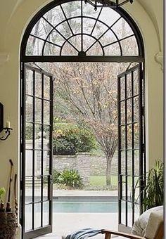 Steel Doors And Windows, Aluminium Windows And Doors, Windows Me, Arched Windows, Iron Front Door, Iron Doors, Stairs Handle, Aluminium French Doors, Balcony Doors