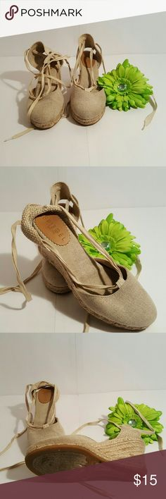 Spiegel Espadrilles  shoes Beige Espadrilles, shoes by spiegel, great condition, fun shoe to wea with capri, skirts and dresses. Spiegel Shoes Espadrilles