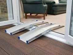 Idea For Ramp Build Cement Pour Want Cement Deck At Door