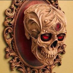 Awesome #skull and frame.