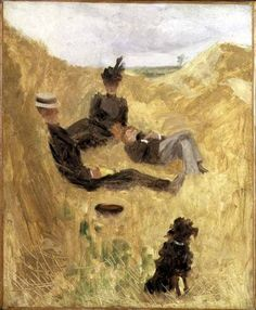 Toulouse-Lautrec, Picnic in the Country