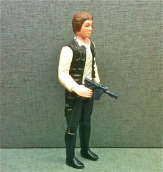 By far, the ugliest Star Wars figure. Harrison Ford was definitely pissed!
