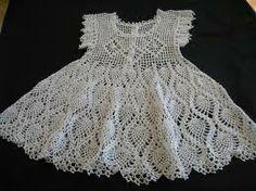 crochet girl dress - Google Search