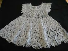 crochet girl dress - Google Search