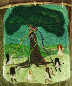 A Mountain Hearth: Gathering Around the Maypole