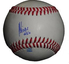 Juan Carlos Linares Autographed ROLB Baseball, Boston Red Sox, Proof Photo by Southwestconnection-Memorabilia. $44.99. This is a Juan Carlos Linares autographed Rawlings official league baseball. Juan signed the ball in blue ballpoint pen. Check out the photo of Juan signing for us. Proof photo is included for free with purchase. Please click on images to enlarge. 1