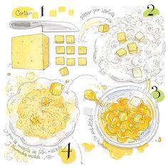 No te puedes perder esta receta visual que además te ayuda a practicar tu español.