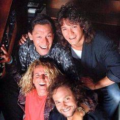 Van Halen Circa 1988 Van Halen 2, Eddy Van Halen, Alex Van Halen, Van Hagar, Red Rocker, Sammy Hagar, David Lee Roth, Best Guitarist, Def Leppard