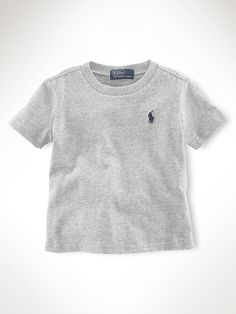 aaf7f6d5912 Ralph Lauren Childrenswear Boys  Crewneck Tee - Baby Kids - Baby - Baby Boy  months) - T-Shirts   Shirts - Bloomingdale s