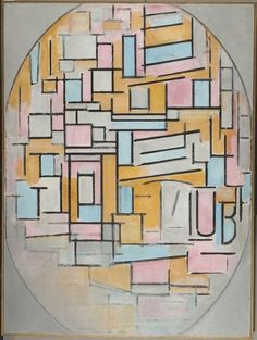 Piet Mondrian, 'Composition in Oval with Colour Planes 2,' 1914, Turner Contemporary