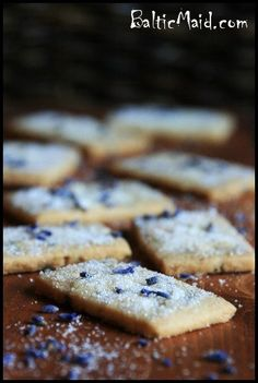 Scottish Lavender Shortbread - http://www.pingirls.com/scottish-lavender-shortbread/