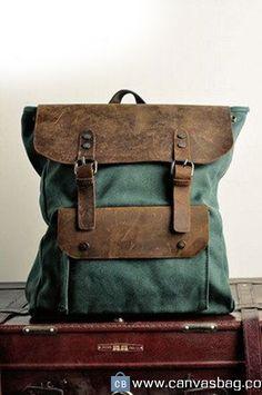Backpack Canvas Rucksacks