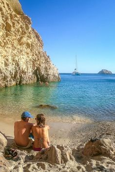 Greek Islands Vacation, Greek Islands To Visit, Best Greek Islands, Greece Islands, Greek Island Hopping, Secluded Beach, Beautiful Islands, Travel Photos, Travel Inspiration