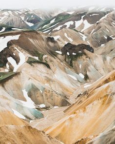 "just-good-design: "" Almost like a painting Iceland. By @btonevibes """