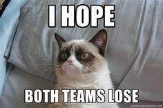 Grumpy is really rooting for this