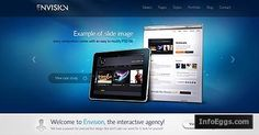 Envision A Perfect Business WordPress Theme with Multiple Sliders