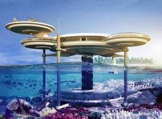 Four most beautiful underwater resorts in the world!
