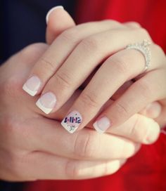 Put the #wedding date on your ring finger!