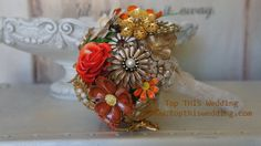 Vintage Brooch Bouquet  CUSTOM Made to Order  by topthiswedding!  I can't wait to see what Debbie does with my family pins!  'just a few more days.