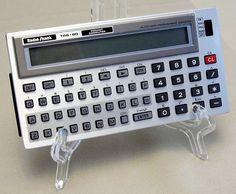 Vintage Radio Shack TR-80 Pocket Computer, Model PC-3, Cat. No. 26-3590, Made in Japan, Circa the 1980s
