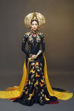 """winterlitany: """" Look how beautiful Miss Vietnam is omg. Fire bender Vietnamese queen. [x] """""""